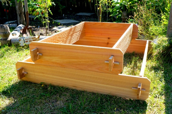 Raised Garden Bed Kit Elevated Planter Box Tiered Garden Bed Etsy