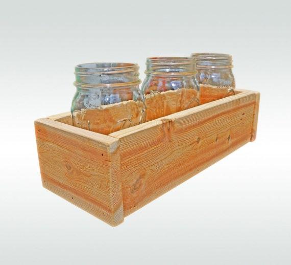 Cedar Herb Planter Box Indoor Planter Window Box Storage Box Etsy