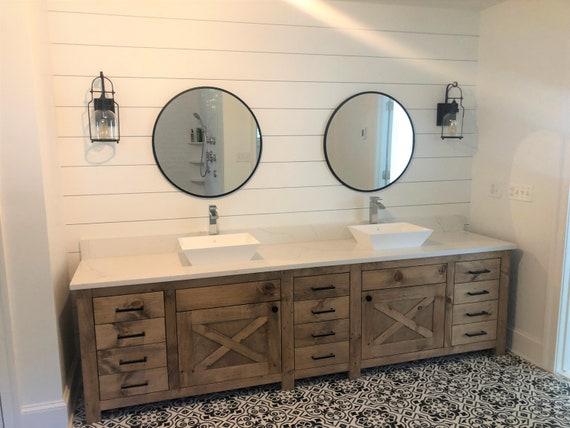 Handmade custom vanity