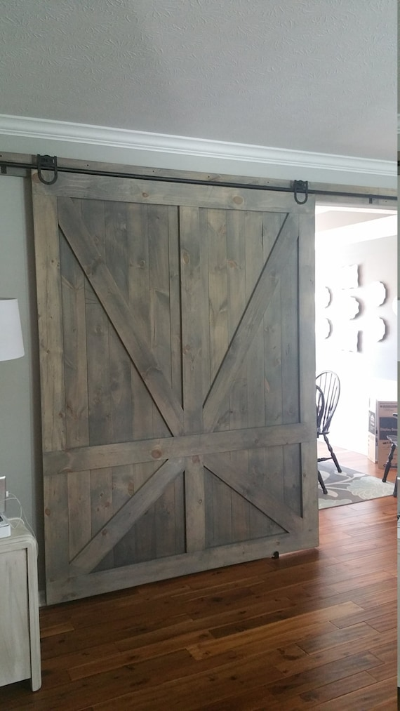 Handmade barn door