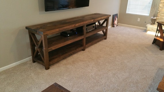Custom handmade media center