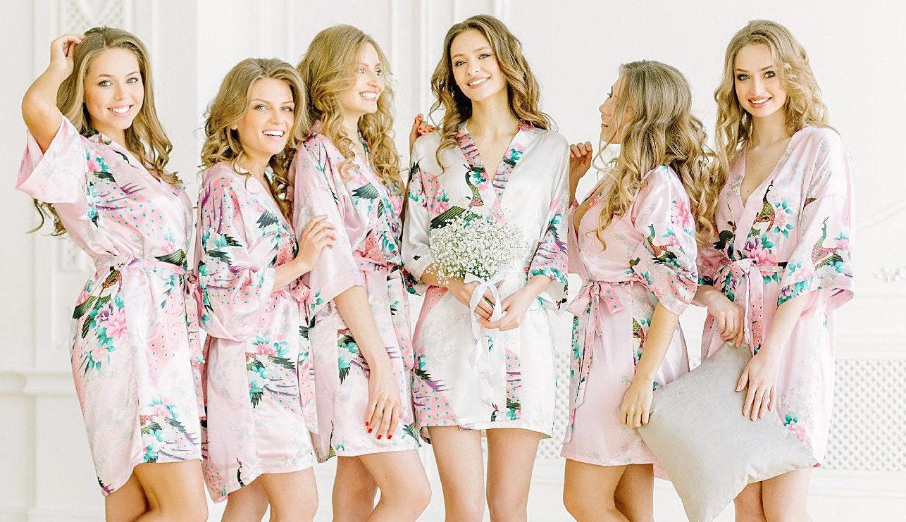 9aeeb6b6d90 Bridesmaid robes Set of 123456789101112 Bridesmaid