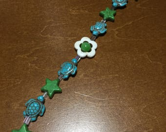 Turtle Algae Bracelet