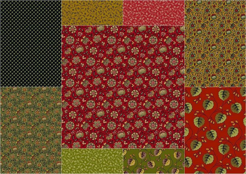 Andover Holly Berry Festive Red100/% cotton Fabric Patchwork Quilting /& Craft