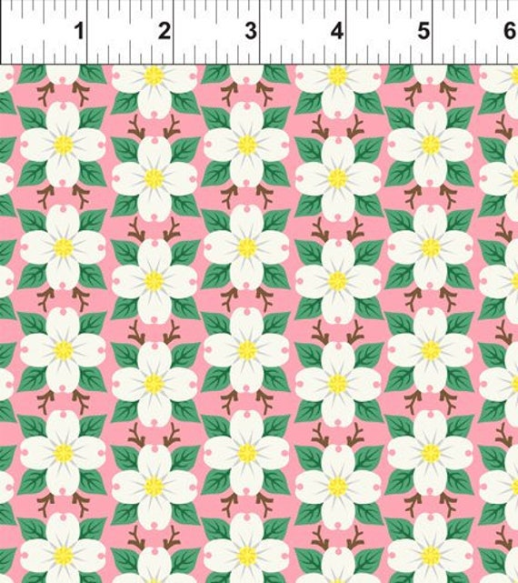 100/% Algodón Cojín Quilting fabric Michael Miller Negro Gris Tonal Floral