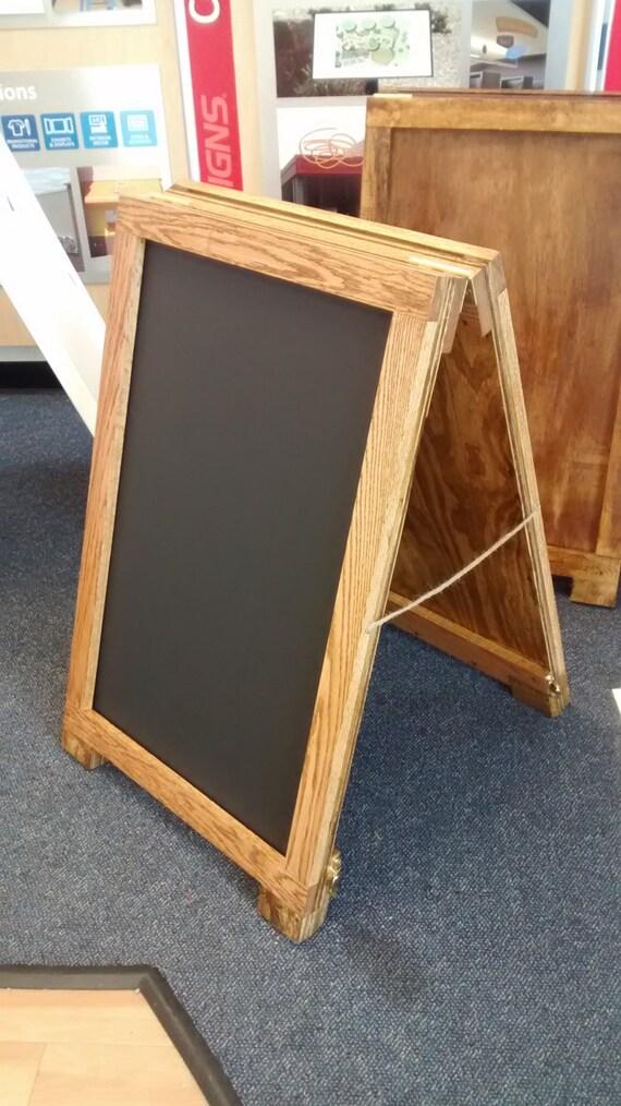 Sandwich Board 24 X 36 Wooden A Frame Sign Holder