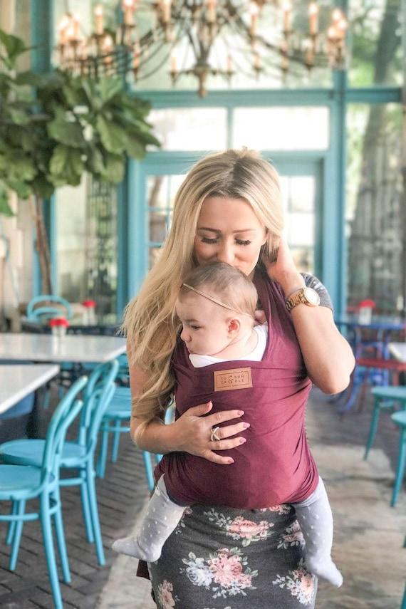 Merlot Baby Wrap Baby Carrier Newborn Wrap Best Baby Shower Or Registry Gift Present Nursing Or Breastfeeding Wrap