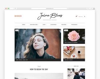 Jaime Blues - Wordpress theme - Wordpress Template - Responsive WordPress Blog Theme - Shop Template  - Woocommerce - Fashion - Photography