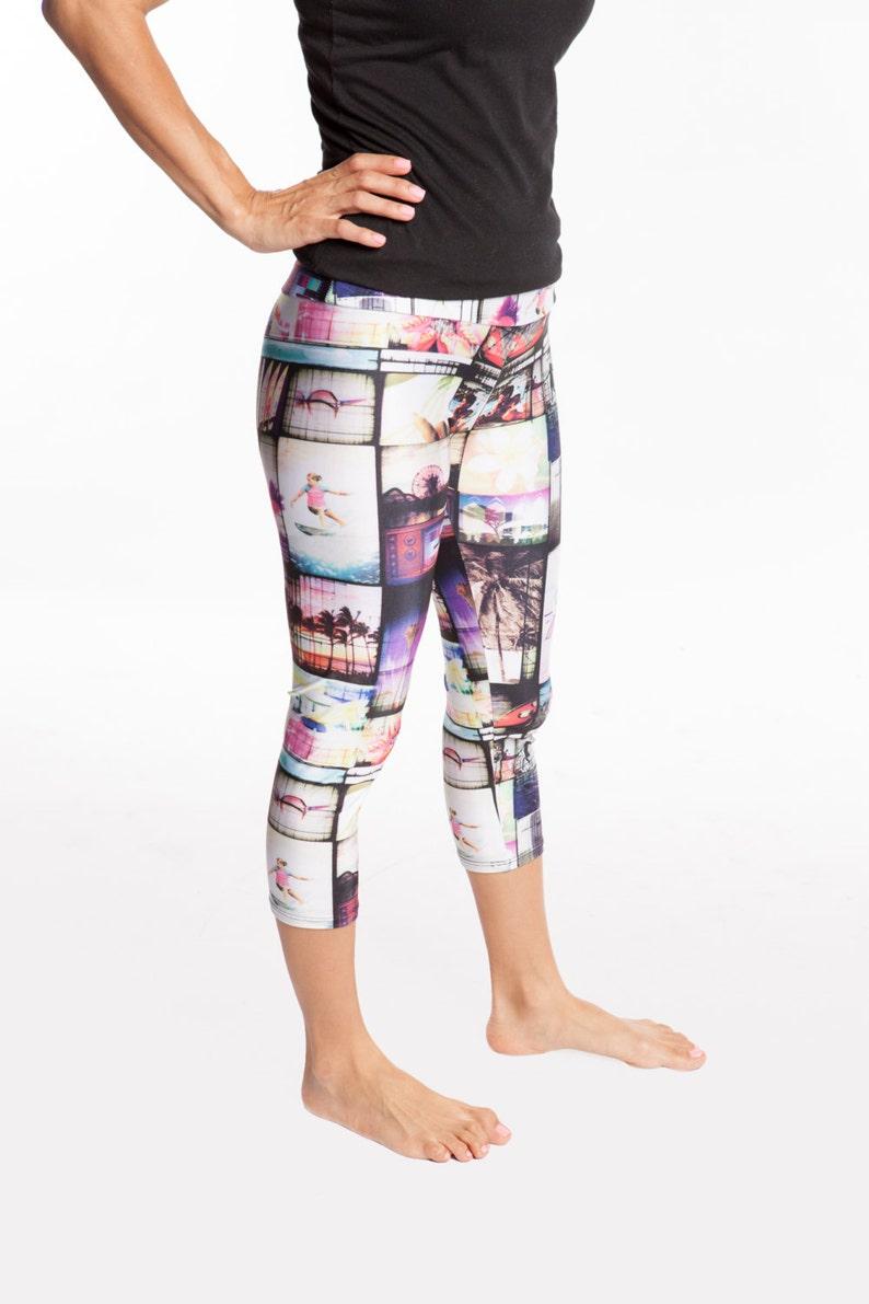 Capri Pants-girls-spandex/nylon-capri legging-elastic image 0