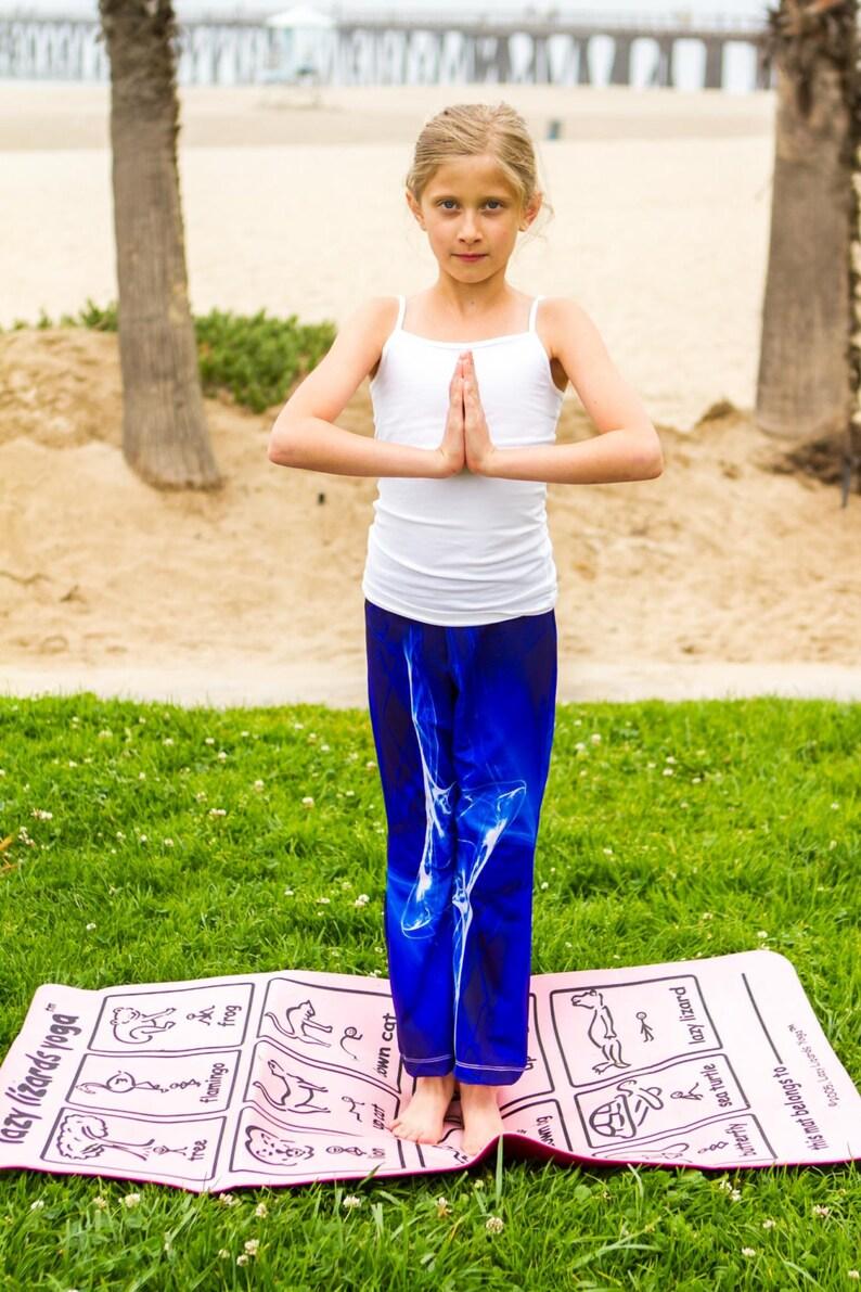 Yoga Pants-girls-spandex/nylon flare leg-elastic waist image 0