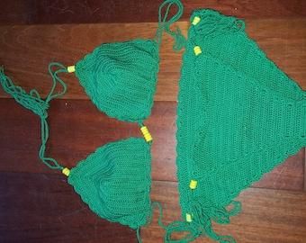 Hand made crochet bikini