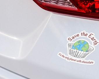 Save Earth sticker