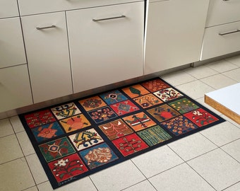 Magic Carpet  Design Vinyl Floor Mat