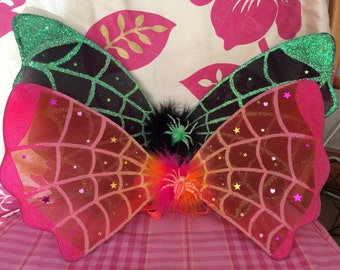Scary faerie wings