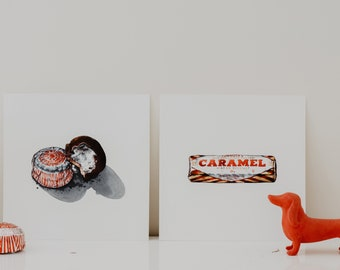 Tunnock's Wafer Biscuit High Quality Print
