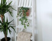 Step Ladder REDELIKE Vintage 1950-70 39 s Shabby Chic Wedding Decor - Storage for plants, baskets, blankets, books etc, Plant Stand, Shoe Rack