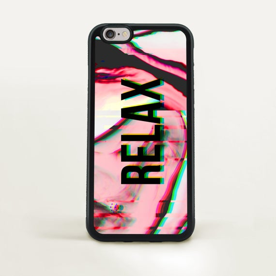 Case for Iphone X trippy glitch case fits Iphone 8 marble case for Iphone 7  relax cover for Iphone 6 monogram case for Samsung galaxy s8 T2