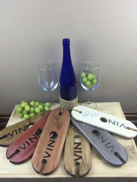 Holz Wein Träger zwei Glas Brautjungfer Geschenk | Etsy