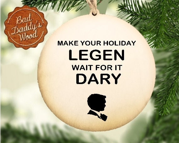 How I Met Your Mother Christmas.Barney Stinson Christmas Ornament How I Met Your Mother Christmas Ornament Barney Stinson Ornaments Funny Office Gift Ornaments Legendary