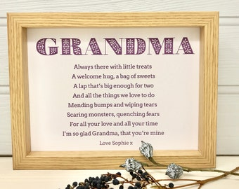 gifts for grandma etsy