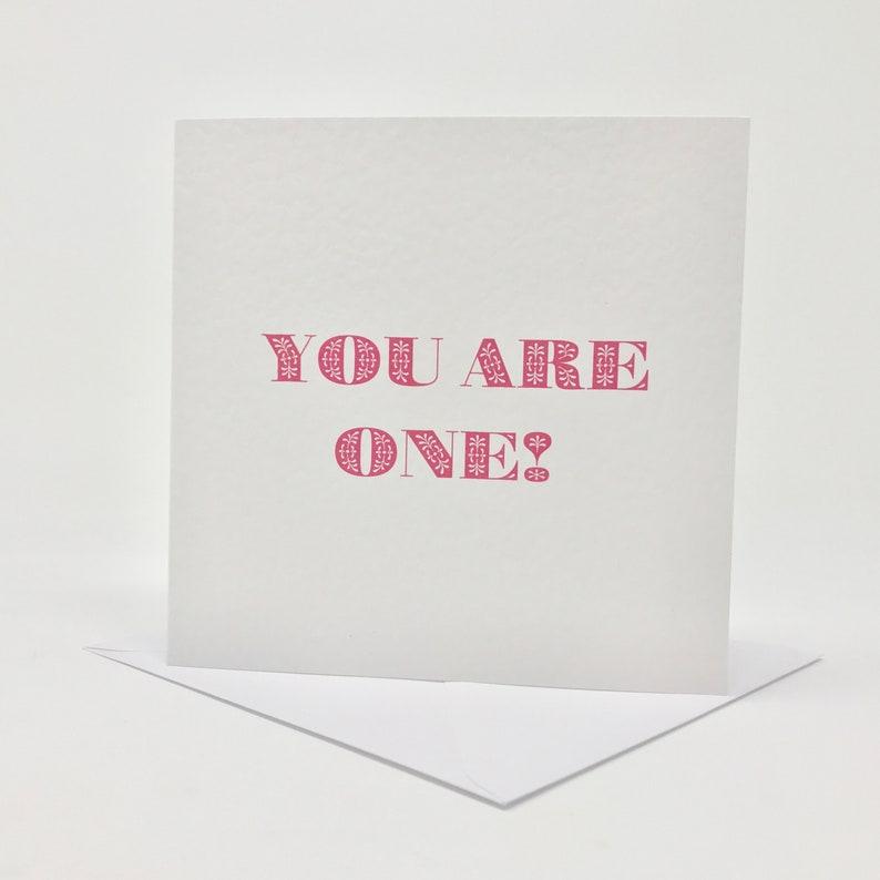 First Birthday Card For A Girl Birthday Girl Card Etsy