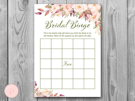 graphic about Printable Bridal Bingo named Boho Bridal Shower Bingo, Printable Bridal Bingo, Present Product or service Bingo, Bridal shower video game, Bridal shower game, Printable Recreation WD85 TH46