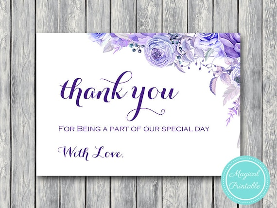 Thank You Card Wedding Gift: Flat Thank You Cards Flat Card Thank You Notes Wedding