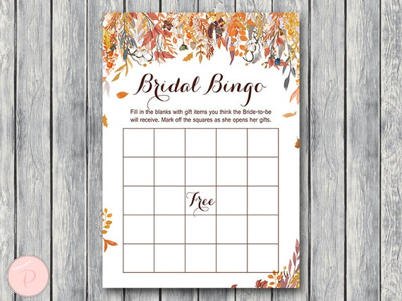 graphic regarding Fall Bingo Printable named Slide Bridal Shower Bingo, Printable Bridal Bingo, Reward Solution Bingo, Bridal shower match, Bridal shower recreation, Printable Recreation WD84 TH47