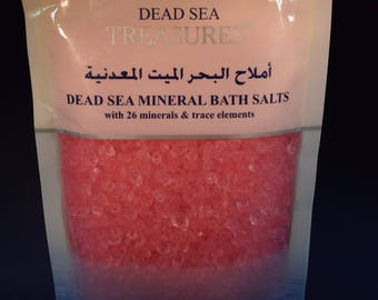 Scented Dead Sea Salts 8oz