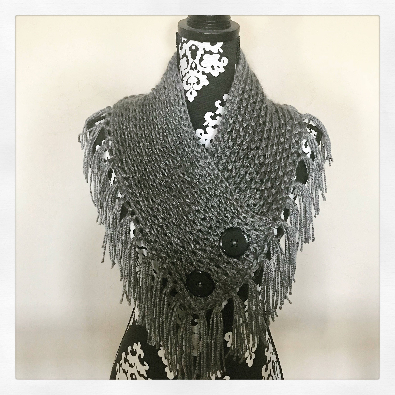 Crochet Bandana Cowl Pattern Etsy