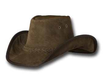 9ca443bd19b4fd VE Adventures Suede Leather Cowboy Hat 3020RB - Royal Brown