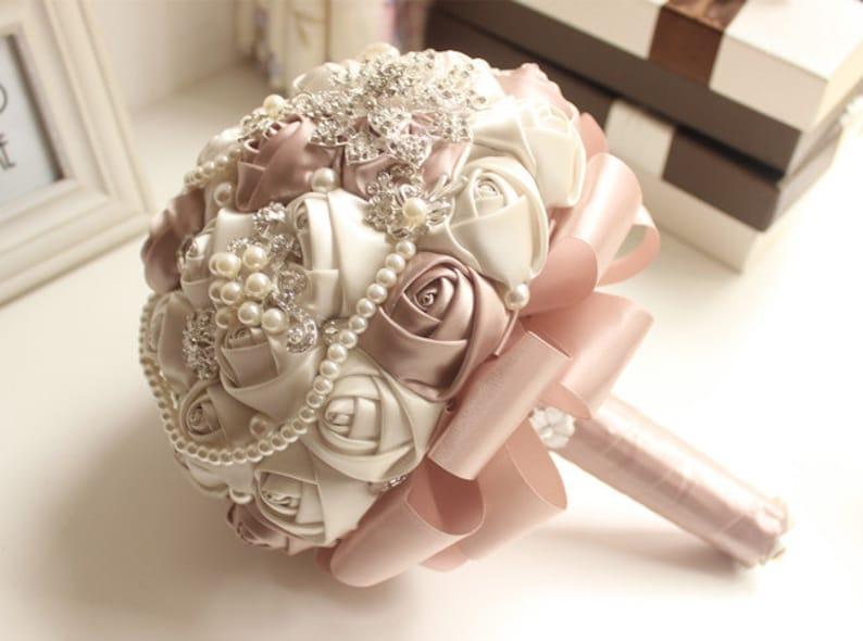 ON SALE Brooch bouquet wedding bouquet bridal bouquet image 0