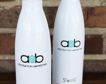 d4aca334be Business LOGO Custom S'well Bottles Part 1 - Boss Day Gift, Birthday, Work,  Thank You Gift