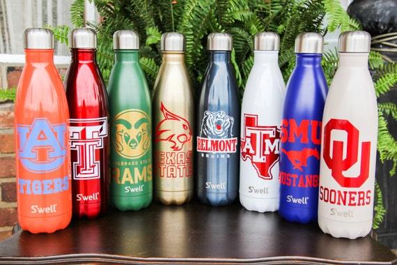 83d83e3ce2 Double Sided Custom S'well Bottles Part 1 College | Etsy
