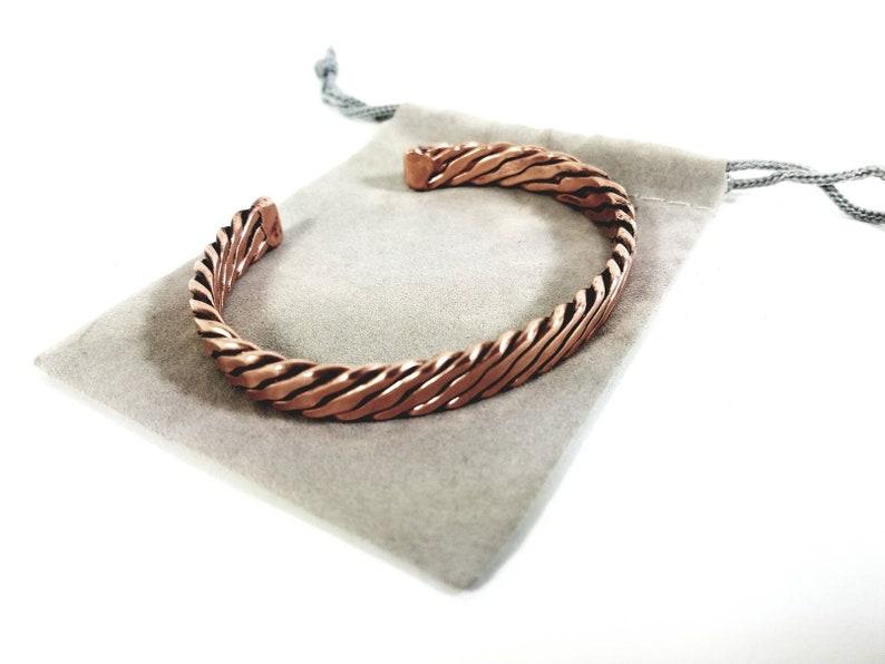 The Blake Bracelet  A Copper Mens Bracelet  The infinity image 0