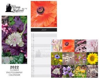 2022 Flower Photography Wall Calendar