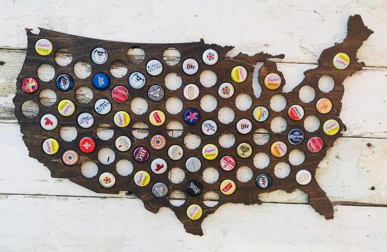 United States Bottle Cap Holder image 0