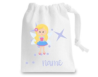 Cute Personalised Names Tooth Fairy Bag Gift Tf10 Stuff Sack