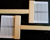Schacht Warping Paddle Travel Loom Hand Loom Handy Tool Winds Up To 20 Threads
