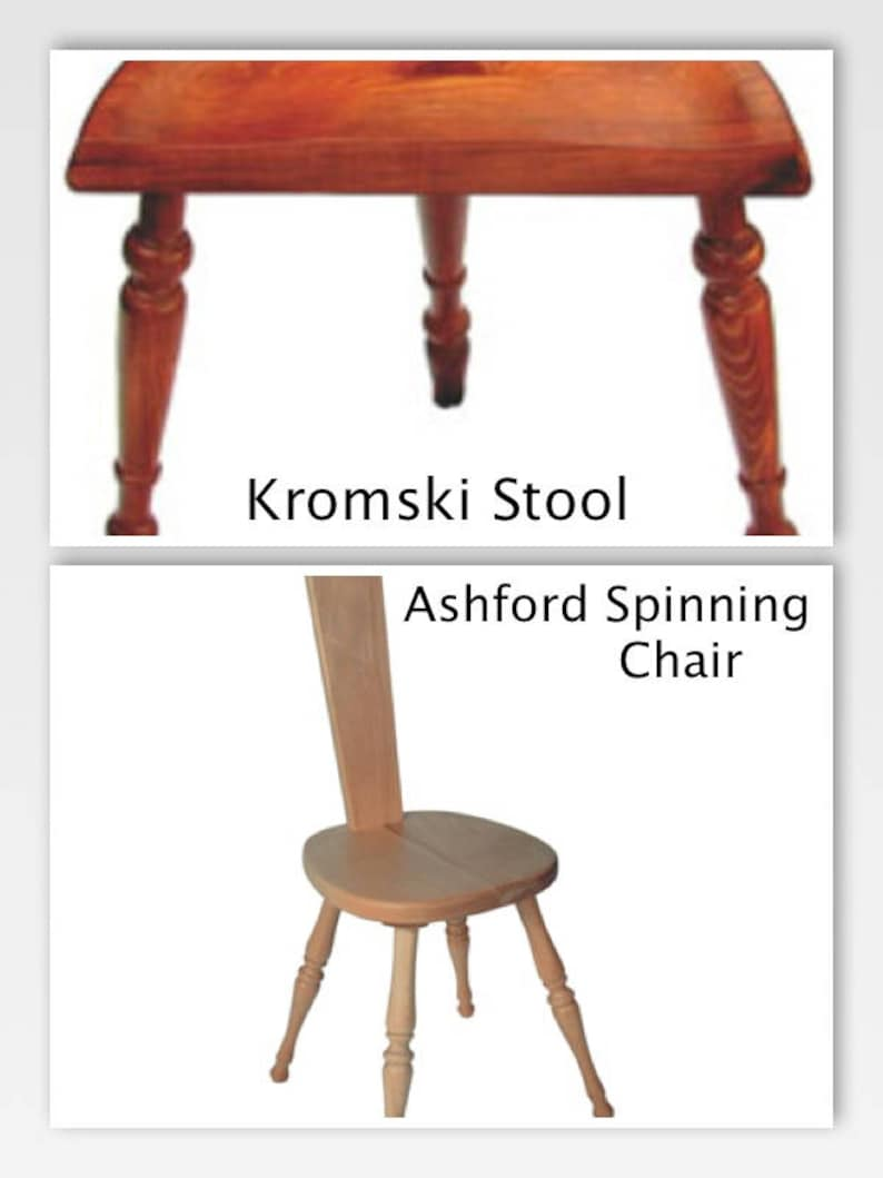 Peachy Kromski Ashford Spinning Stool Chair You Choose Finish Super Fast Shipping Inzonedesignstudio Interior Chair Design Inzonedesignstudiocom
