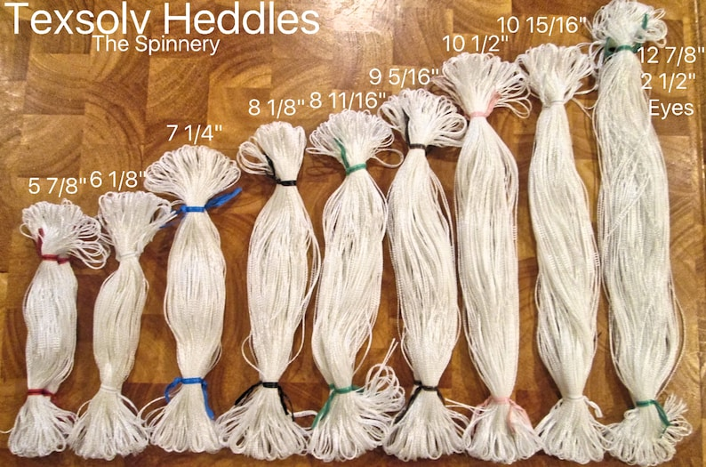 Texsolv Heddles ALL SIZES /& BRANDS Super Fast Shipping!