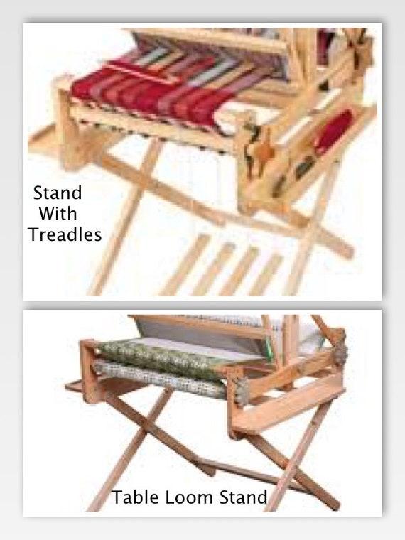 gratuite tisser livraison ou Ashford pliante à table métier rapide pédale stand kit de DYWIEH29