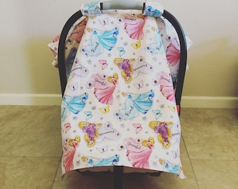 Princess Infant Car Seat Cover
