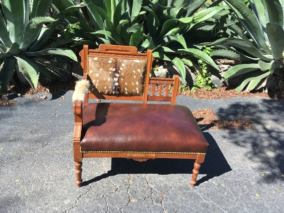 Tremendous Axis Deer Hide Chair Leather Chair Eastlake Bench Axis Deer One Of A Kind Accent Chair Axis Deer Hide Bench Bench Ibusinesslaw Wood Chair Design Ideas Ibusinesslaworg