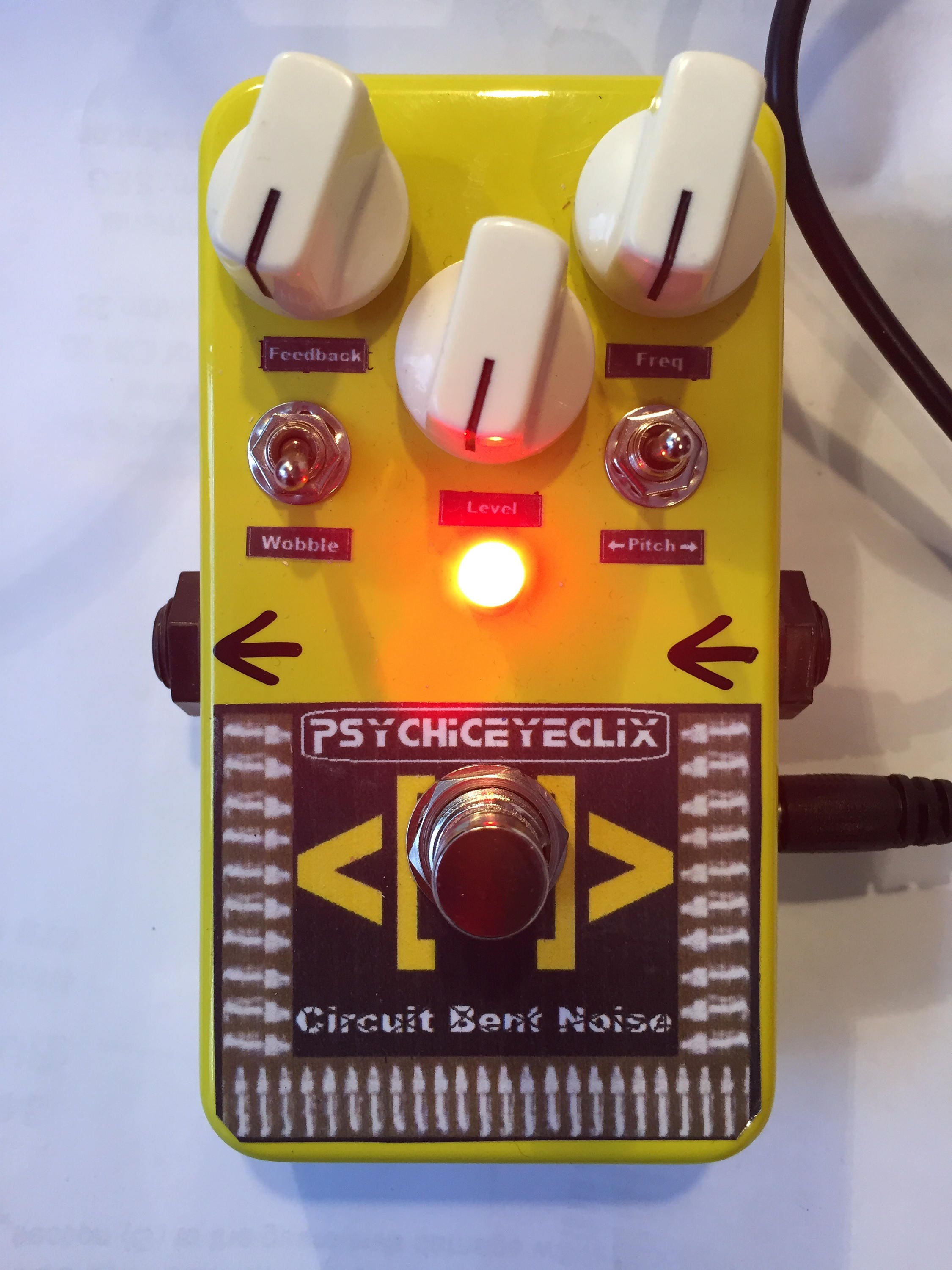 Circuit Bent Noise Pedal Fx Synth Drone Glitch Etsy Furbycircuitbendingjpg Zoom