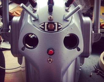 Circuit Bent Noise helmet/voice changer/effects  - fx/synth/noise/drone/glitch