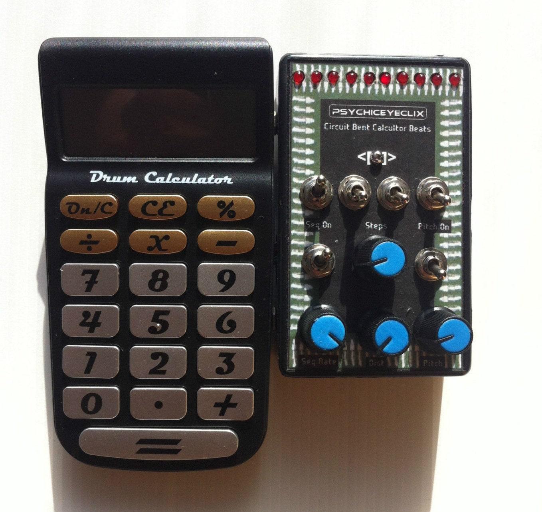 Circuit Bent Drum Calculator Etsy Furbycircuitbendingjpg