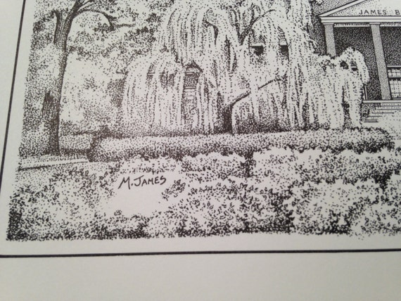 3d33768cd9274 Furman University 12x16 Print (signed and numbered limited edition)