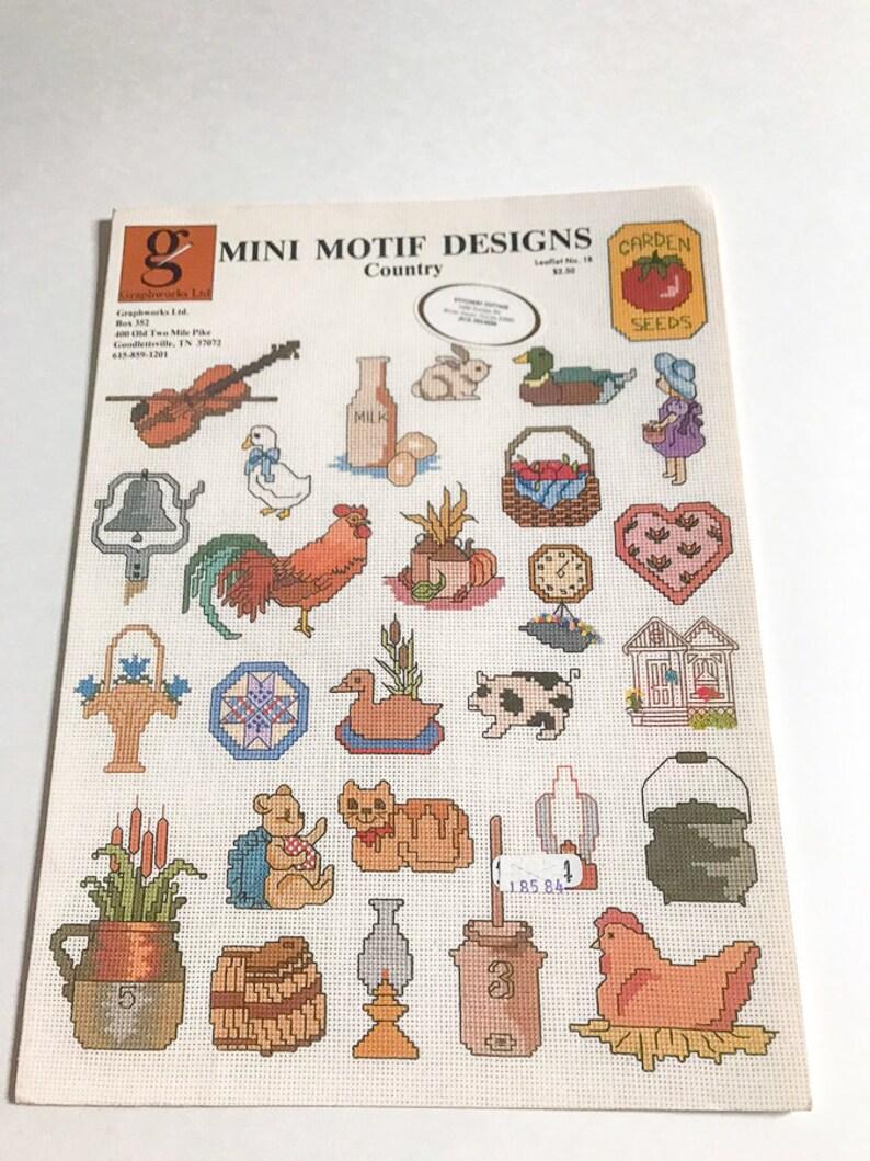 Country Mini Motif Designs #18