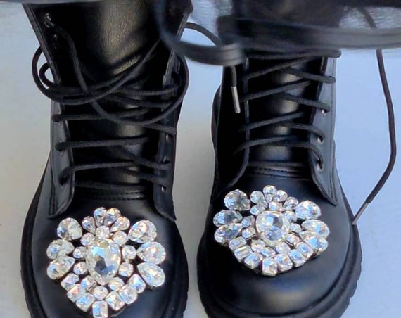 Crystals rhinestones boots/leather boots/winter boots/women boots/handmade boots/Boho boots/fashion boots/luxury boots/embellished boots